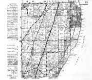 Wilson Township, Lake Michigan, Sheboygan, Sheboygen County 1951